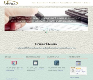 Consumer Education Website promotion